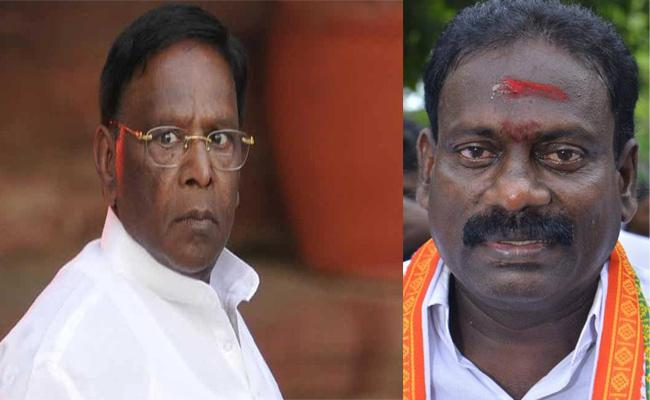 MLA Ready To Complaint on CM Narayanasamy And Ministers Puducherry - Sakshi
