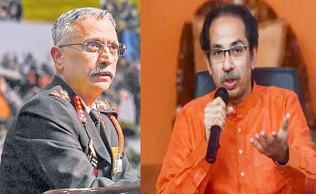 Shiv Sena Welcomes General Naravane New Policy Over POK - Sakshi