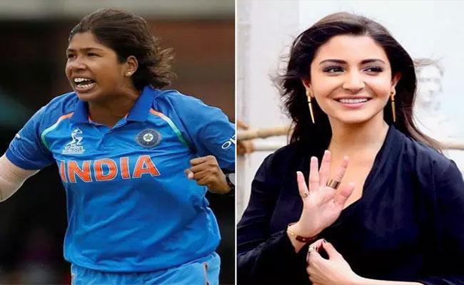 Anushka Sharma Shoots With Former Indian Cricket Captain Jhulan Goswami - Sakshi