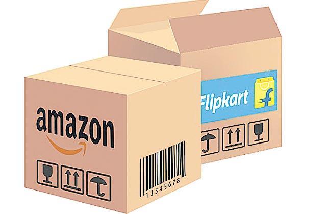CCI orders anti-trust probe against Amazon, Flipkart - Sakshi