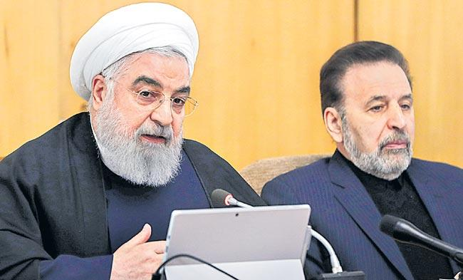 Qatar emir in talks with Rouhani in official visit to Iran - Sakshi