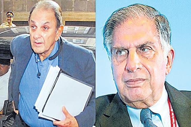 Nusli Wadia withdraws all defamation cases against Ratan Tata - Sakshi