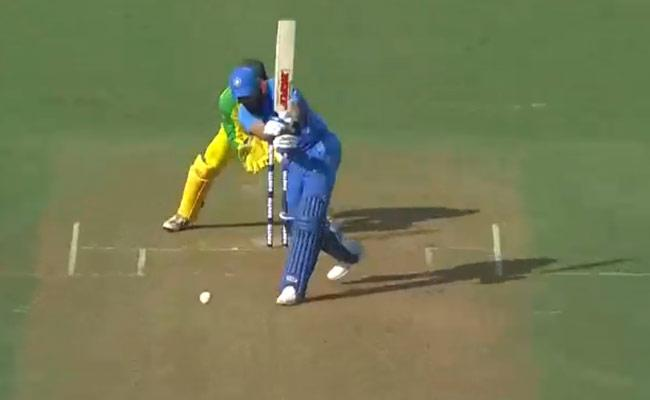 IND Vs AUS: Australia Hit Back Hard After Dhawan And Rahul Stand - Sakshi