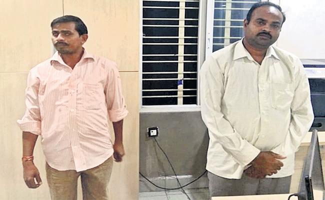Husband Knife Attack on Wife Boyfriend in Hyderabad - Sakshi