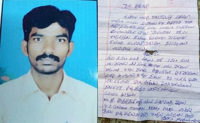 Farmer Commits Suicide in Chittoor - Sakshi