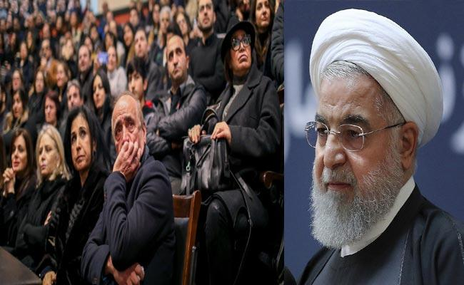Hassan Rouhani Says Downing Ukrainian Plane Is Unforgivable Error - Sakshi