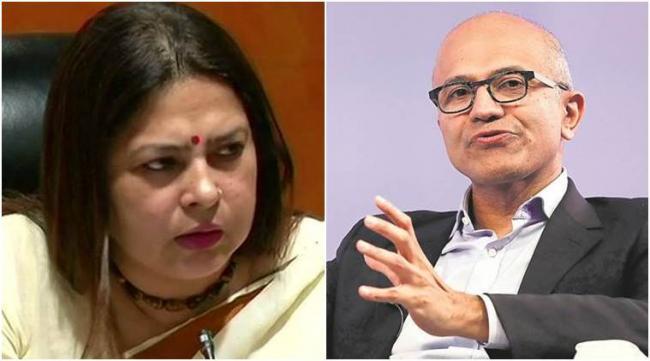 BJP Leader Responds On Satya Nadella Comments Over Caa - Sakshi
