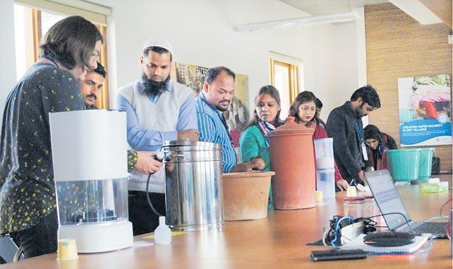 Drinking water storage at home Discussion in February - Sakshi