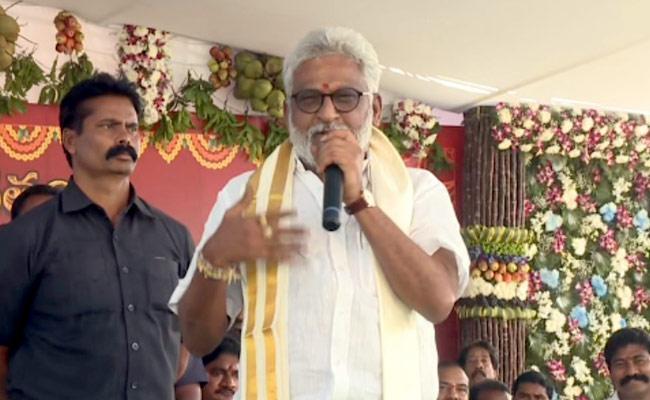 YV Subba Reddy Sankranthi Celebrations In Medarametla - Sakshi