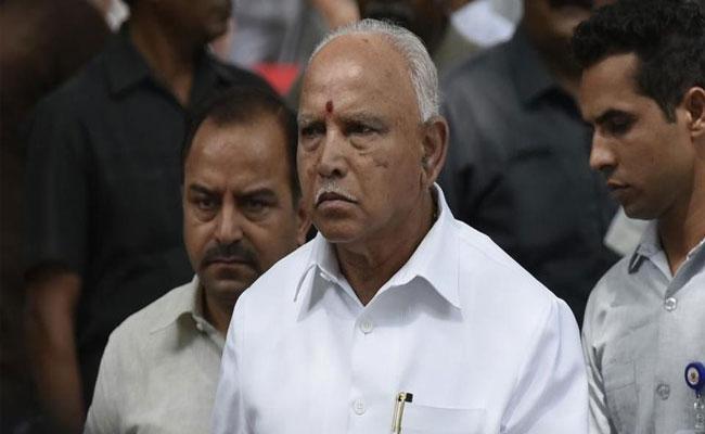 Yediyurappa Has Been Struggling To Expand His Cabinet - Sakshi
