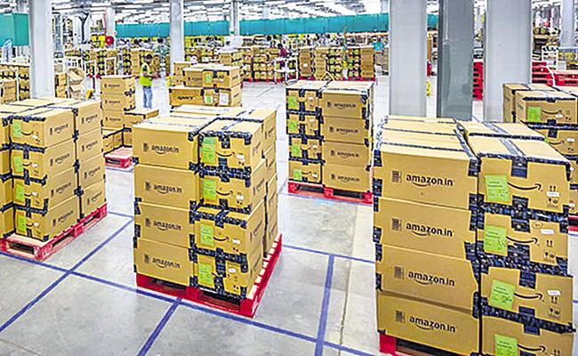 Amazon is offering Rs 1700 crore investment In India - Sakshi