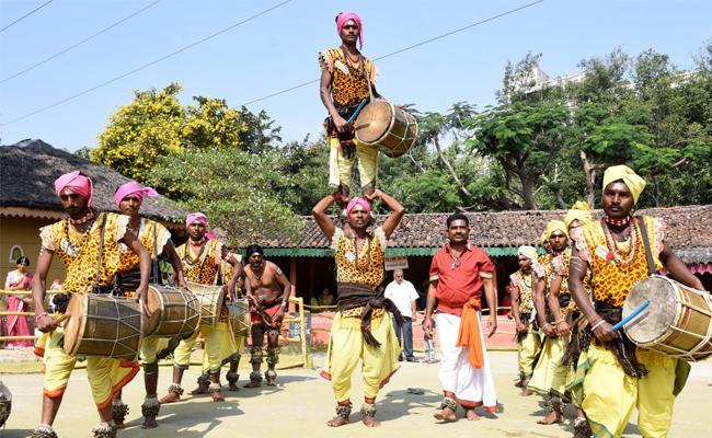 Sankranthi Sambaralu In Shilparamam - Sakshi