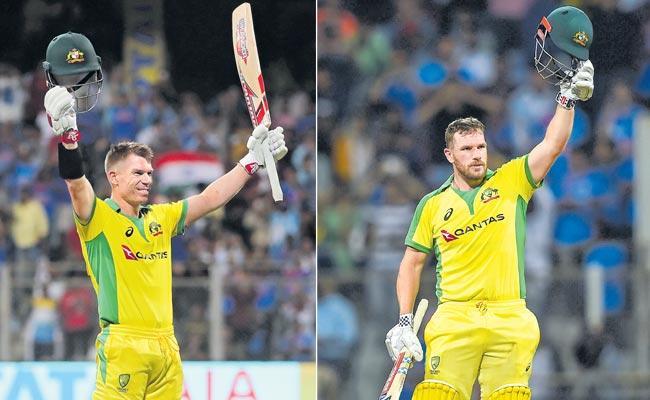 Australia Win Aganist India In First ODI In Mumbai  - Sakshi