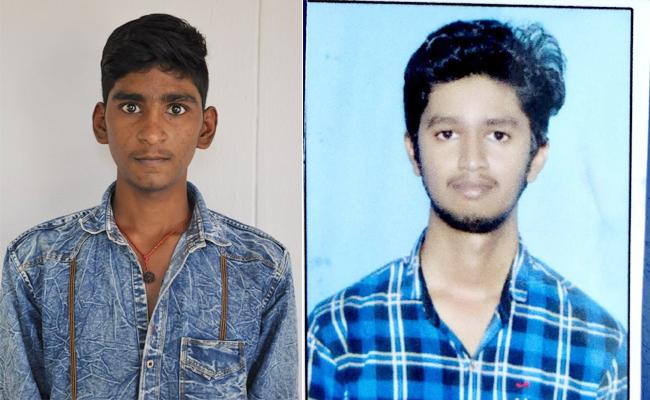 Two Youngmen Died in Canal While Swimming Guntur - Sakshi