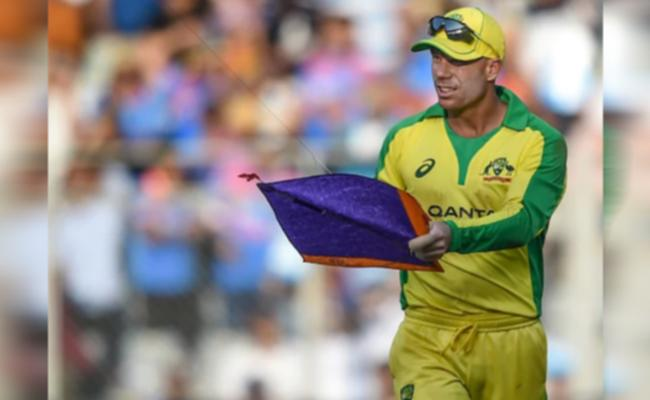 Australia Vs India 1st ODI Kite Stops Match A Brief Period Of Time - Sakshi