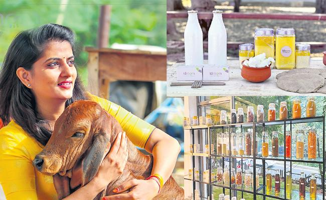 Divya Reddy Agriculture in Milk And Food - Sakshi