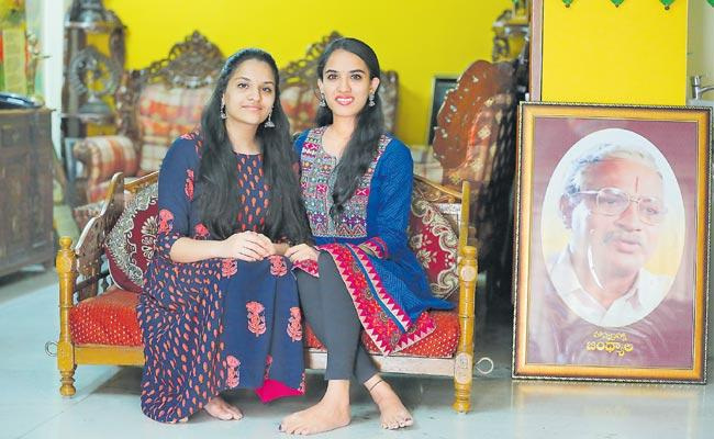 Special Story On Director Jandhyala Daughters - Sakshi