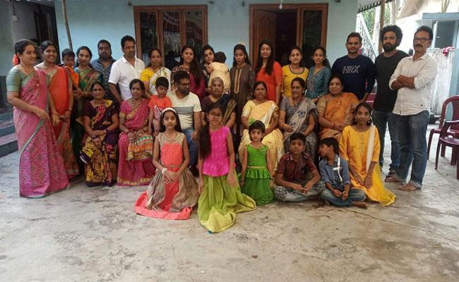 Director Sukumar Sankranti Celebration At His Hometown Mattaparru - Sakshi