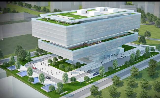 T Hub2 Building Counstruction in Hyderabad Rayadurgam Soon - Sakshi
