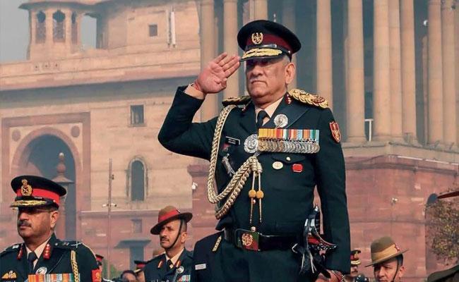 Only Way Terrorism Can Be Ended General Bipin Rawats Mantra - Sakshi