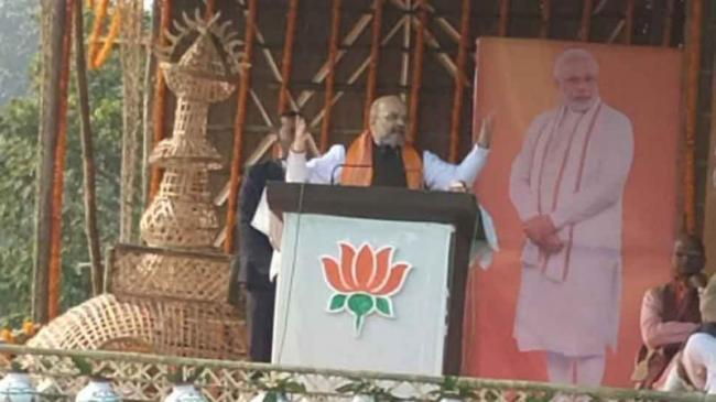 Amit Shah Alleges Opposition Behind Anti Citizenship Amendment Act Riots   - Sakshi