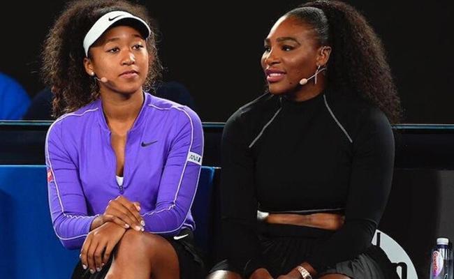 Naomi Osaka Trolls Serena Williams - Sakshi