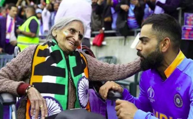 Team Indias Superfan Charulata Passes Away - Sakshi