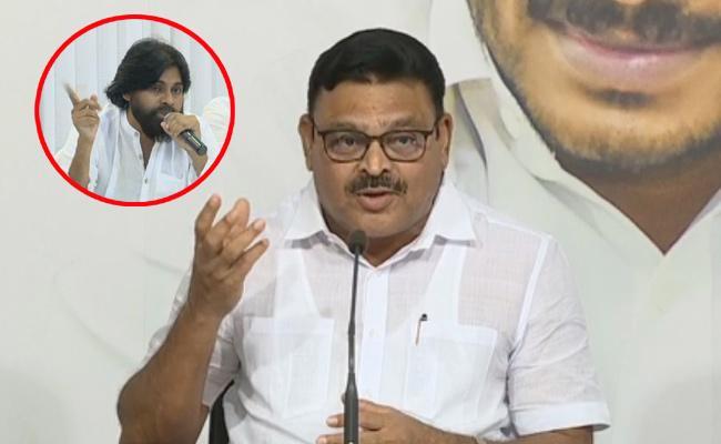 Ambati Rambabu Slams Pawan Kalyan Over Ally With BJP - Sakshi