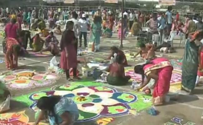 Kanuma Festival Celebrations In Krishna District - Sakshi