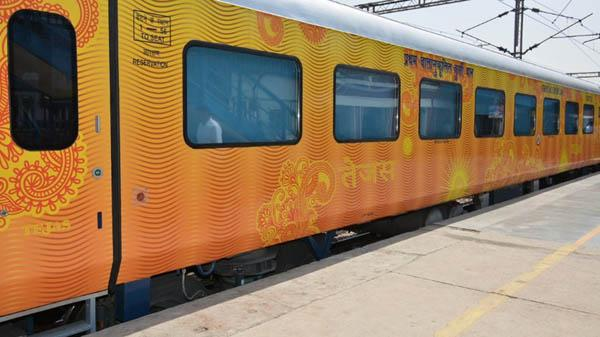 IRCTC To Flag Off Its Second Tejas Train - Sakshi