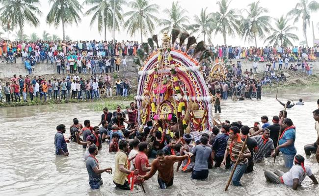 Prabhala Theertham Celebration In Konaseema  - Sakshi