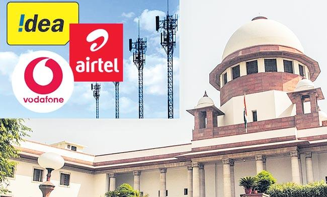 Supreme Court dismisses AGR review petitions filed by telecom companies - Sakshi