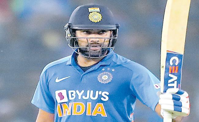 ICC Awards: Rohit Sharma ODI Cricketer Of 2019 - Sakshi