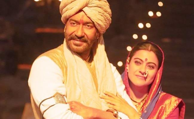 Ajay Devgn Tweet Over Tanhaji Box Office Collections - Sakshi