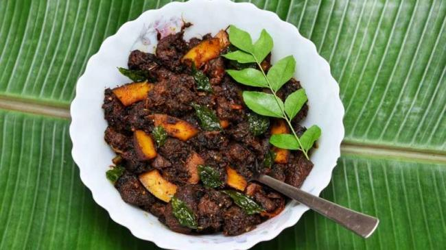 BJP VHP Slam Controversial Advertisement On Beef Dish - Sakshi