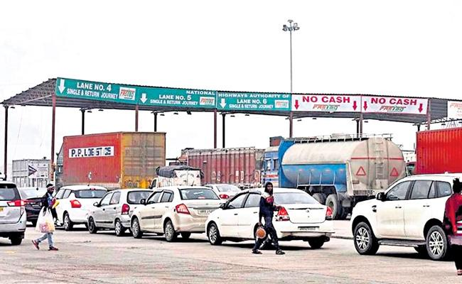 NHAI: New Restrictions On Electronic Toll Payment By Toll Gates - Sakshi