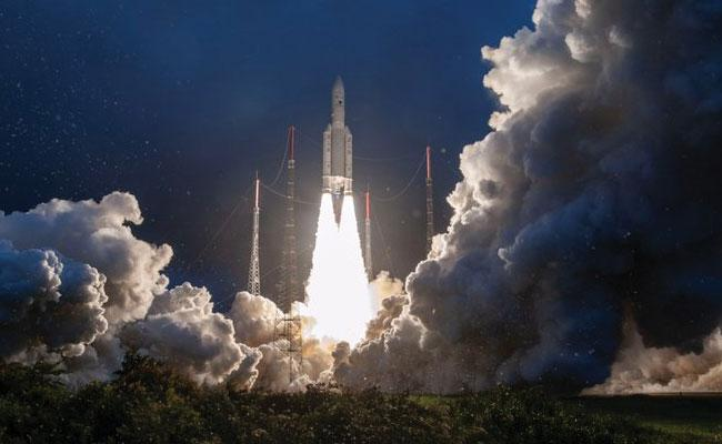 ISRO GSAT-30 Satellite Launched Successfully - Sakshi
