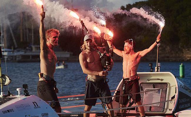 Feedback Madagascar: Heroes of Atlantic Ocean Rowing Record - Sakshi