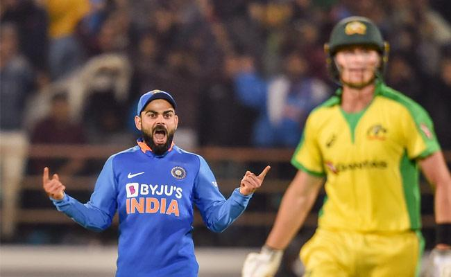 INDIA Won 2nd ODI Against Australia In Rajkot - Sakshi