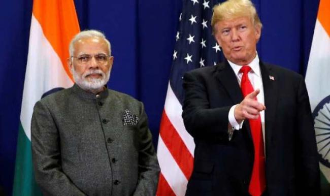 Donald Trump didnot know India-China share border - Sakshi