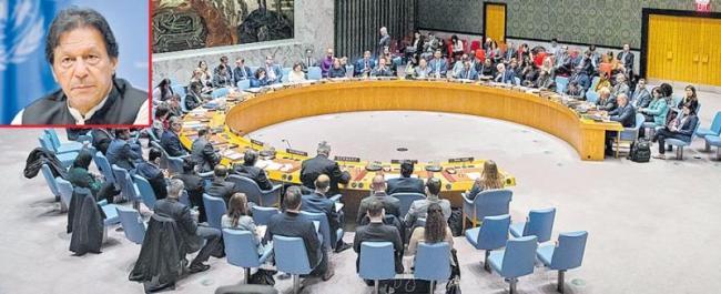 Pakistan again fails to raise Kashmir issue in UNSC - Sakshi