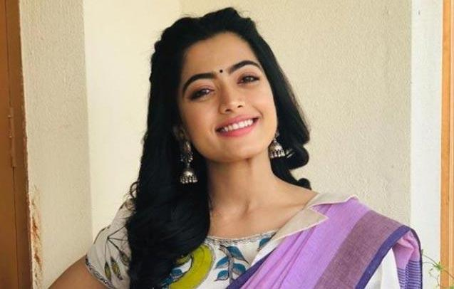 IT raids Kannada actress Rashmika Mandanna house - Sakshi
