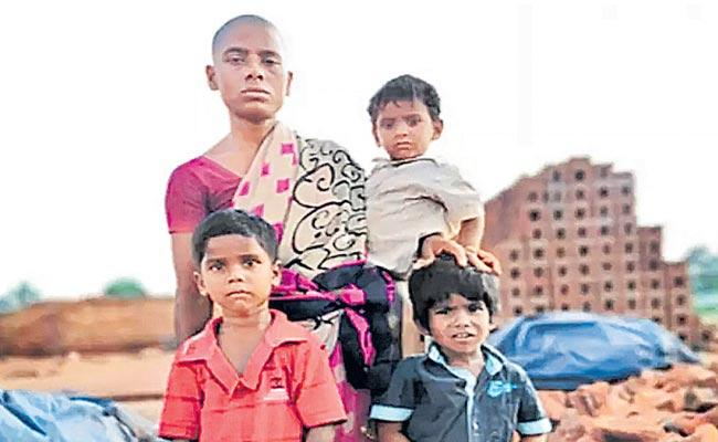 Woman In Tamil Nadu Sells Her Hair For Rs 150 To Feed 3 Kids - Sakshi