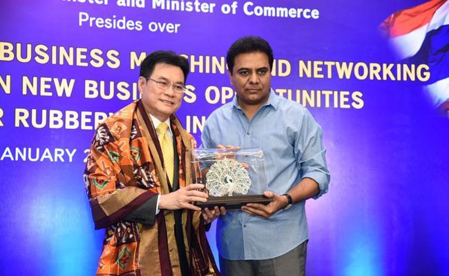 KTR: Thailand Would Invest In Telangana - Sakshi