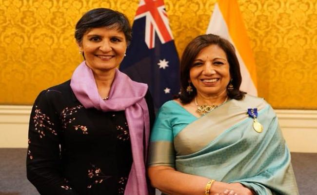 Kiran Mazumdar Shaw bestowed with Australia's highest civilian honour - Sakshi