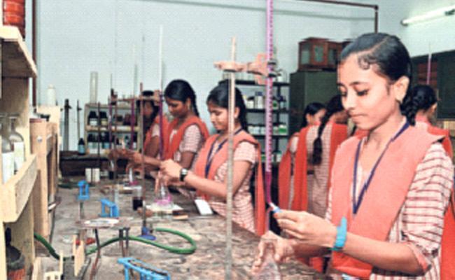 Irregularities In Inter Practical Exams - Sakshi