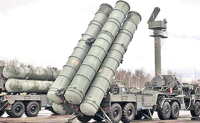 Defense Missile System S-400 Will Send To India By 2025 Says Roman Babushkin - Sakshi