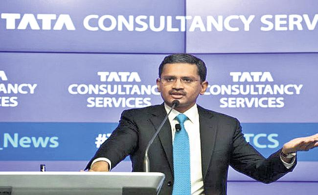 Tata Consultancy Services profit is Rs 8118 crore - Sakshi