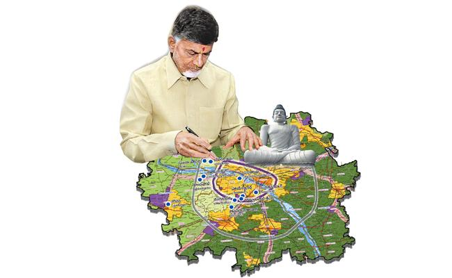 CID investigations Reveal About Chandrababu and Team Land Exploitation - Sakshi