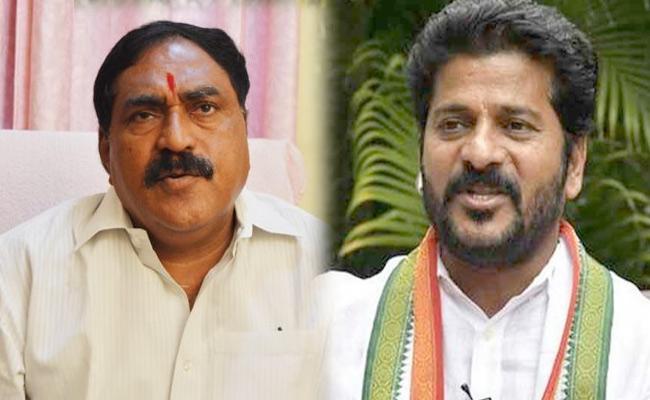 Errabelli Dayakar Rao Takes On Congress MP Revanth reddy - Sakshi